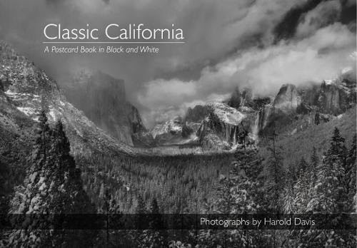Classic California in Black and White Postcard Book ()