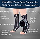 Doc Miller Ankle Brace Compression - 1 Pair Support