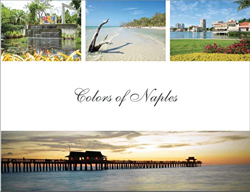 """Colors of Naples"" is an 8.5"" x 11"" coffee table book highlighting the beauty and unique culture of Naples, Florida. Book features award winning photography of Italian photographer, Stefania Pifferi. It makes a perfect gift for family and friends and..."