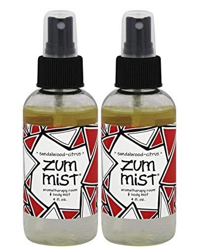 (Indigo Wild Zum Mist Room Body Spray Sandalwood & Citrus, 2 Pack )