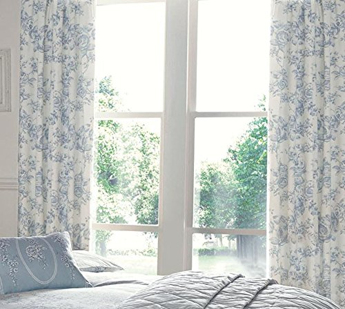 Floral Toile Curtain - 2