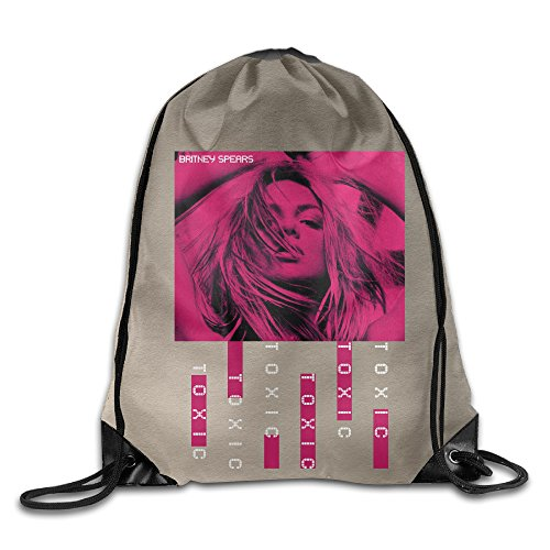 [CYSKA Custom Britney Toxic Spears Best Drawstring Backpack White] (Britney Spears Costumes)