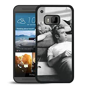 James Dean and Marilyn Monroe 1 Black Personalized Recommended Custom HTC ONE M9 Phone Case