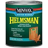 Minwax 630520444 Water Based Helmsman Spar Urethane, quart, Satin
