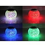 Solar Table Light, Vacio Color Changing Solar