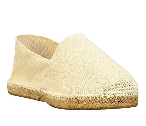in Made Espadrilles Spain DIEGOS Ivory Men's Hand Women's aUBOnRq8