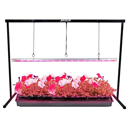 Purple Reign® 4' Foot 20W Watt LED T8 Grow Light System for Plant Growing