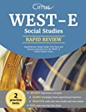 img - for WEST-E Social Studies Rapid Review Study Guide: Test Prep and Practice Questions for the WEST-E Social Studies Exam book / textbook / text book