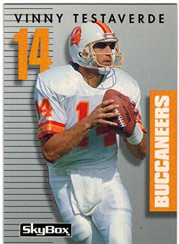 1992 SkyBox Prime Time Tampa Bay Buccaneers Team Set with Vinny Testaverde & 2 Broderick Thomas - 10 NFL Cards