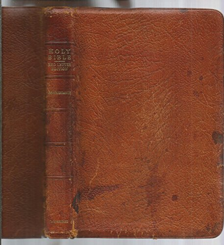 - The Holy Bible King James Version Water Buffalo Calfskin Leather