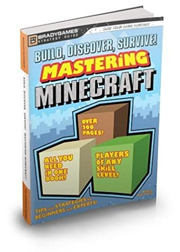 build discover survive mastering minecraft strategy guide rh amazon com Minecraft Slime Skin Functional Books Minecraft