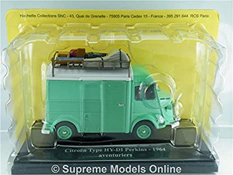 = CITROEN TYPE HY-DI PERKINS 1964 VAN 1//43RD LIGHT GREEN COLOUR EXAMPLE T3412Z