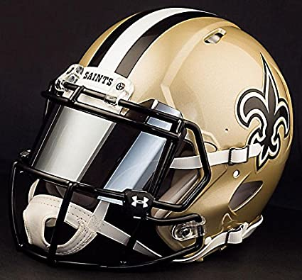 Image Unavailable. Image not available for. Color  Riddell Speed New  Orleans Saints NFL Replica ... 9104b2827