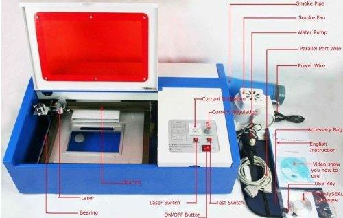 Gowe® Laser Engraving Machine,laser Cutting Machine, Co2 Laser Engraver,40w, 200*300mm, USB Port by GoweLaser