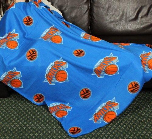 New York Knicks NBA Fleece Throw Blanket by - New Fleece Knicks York Team