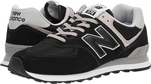 New Balance Men's 574v2 Evergreen Lifestyle Sneaker, Black, 10.5 D US (New Balance 576)