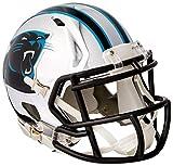 Riddell Speed NFL CAROLINA PANTHERS Football Helmet Chrome Mini