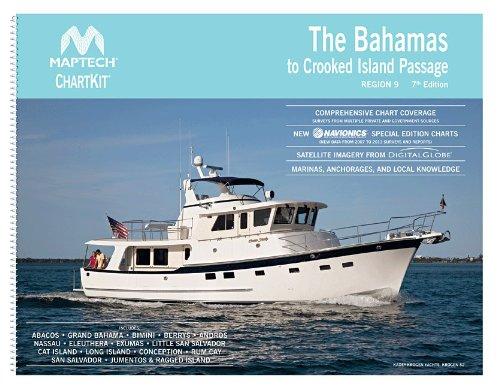 MAPTECH ChartKit Region 9: The Bahamas to Crooked Island Passage, 7th - Chart Maptech