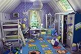 Fun Rugs Curious George Climb Reach Play Juvenile Accent Rug, 39-Inch by 58-Inch