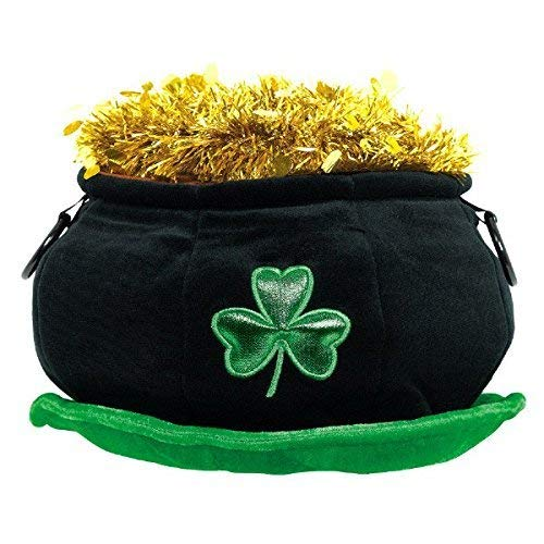 amscan Wee Willy St. Patrick's Day Party Lucky Pot of Hat (1 Piece), 11
