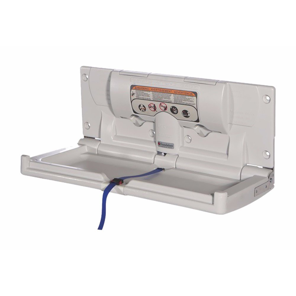 Standard Changing Station - Horizontal surface mount (EZ Mount backer plate included)