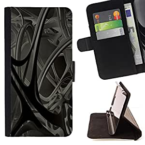 DEVIL CASE - FOR Samsung Galaxy S3 Mini I8190Samsung Galaxy S3 Mini I8190 - Anatomy Blood Vessels 3D Structure Modern Art - Style PU Leather Case Wallet Flip Stand Flap Closure Cover