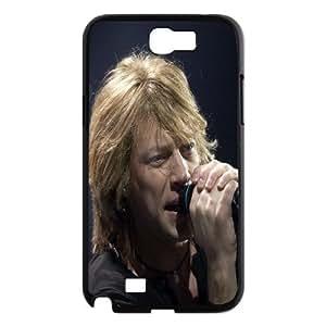 [bestdisigncase] For Samsung Galaxy Note 2 -Bon Jovi Pop-Metal Music Band PHONE CASE 7