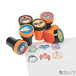 Fun Express Halloween Stamps - 24 per unit Science Kit