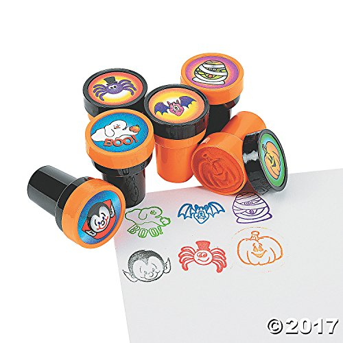Fun Express Halloween Stamps - 24 per Unit Science Kit -