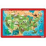 Crocodile Creek Placemat - USA Map