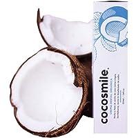 PASTA DENTAL NATURAL cocosmile a Base de aceite de coco Sin Flúor