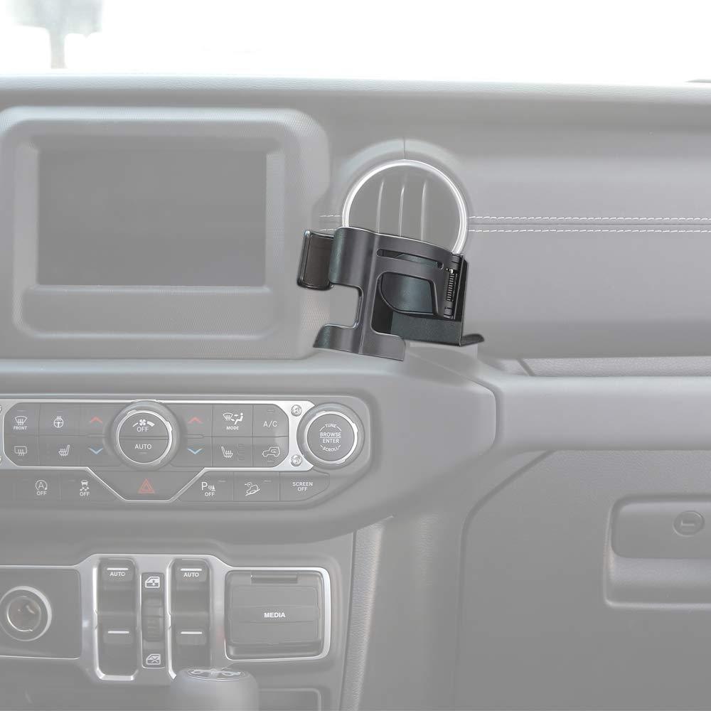 Black Interior Accessories Savadicar GearTray Passenger Side Storage Tray Organizer for 2018-2020 Jeep Wrangler JL JLU /& Gladiator JT
