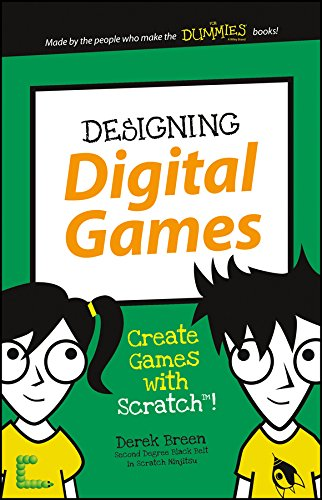 Designing Digital Games Scratch Dummies ebook product image