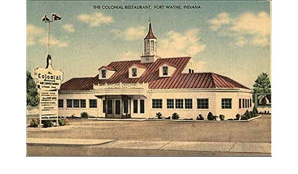 Amazon Com The Colonial Restaurant Fort Wayne Indiana