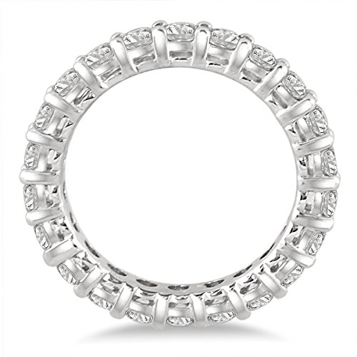 2 Carat TW AGS Certified 14K White Gold Diamond Eternity Band (K-L Color, I2-I3 Clarity) by Szul (Image #2)
