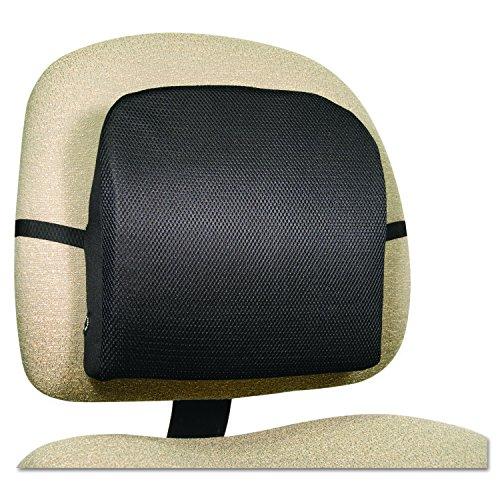046854134935 - Comfort Products 60-2804MH05 Memory Foam Massage Lumbar Cushion, Black carousel main 1
