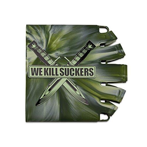 Bunker Kings Knuckle Butt Tank Covers - WKS Knife Camo -