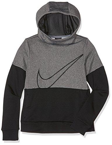 Filles black noir G Hoodie Heather Nike Gx Therma Multicolore carbon Gris Po Nk Sweat black 0BwqT