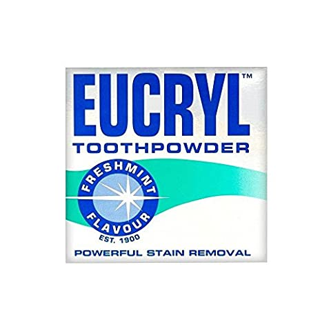 Eucryl Smokers Tooth Powder Freshmint Flavour (50g) - Pack of 6