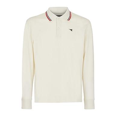 3fe7c71a0d Diadora - Polo Shirt Polo PQ LS for Man: Amazon.co.uk: Sports & Outdoors