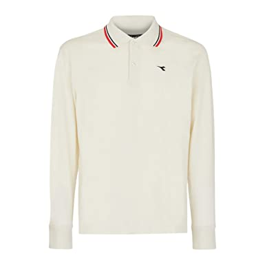 6ff234bc Diadora - Polo Shirt Polo PQ LS for Man: Amazon.co.uk: Sports & Outdoors