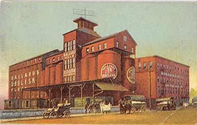 Louisville Kentucky outside view Ballard Ballard Co mills antique pc Y8859