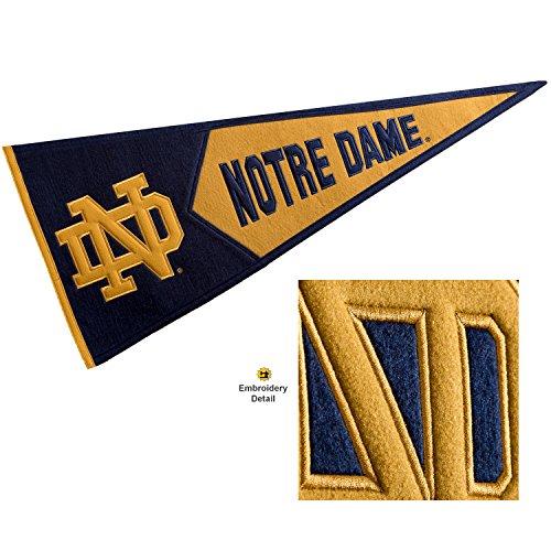 Winning Streak Notre Dame Fighting Irish Wool Embroidered and Sewn Pennant