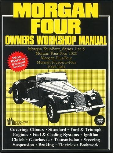 Morgan 4 AB Workshop Manual by R.M. Clarke (2004-05-03)