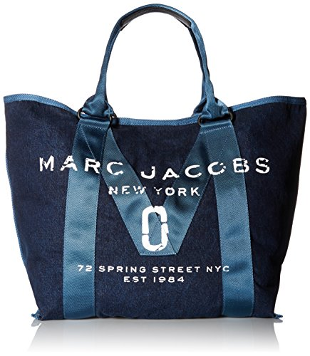 Price comparison product image Marc Jacobs Women's New Logo Tote, Denim