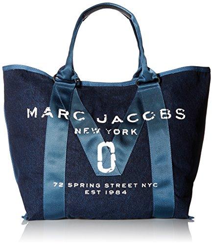 Price comparison product image Marc Jacobs Women's New Logo Tote,  Denim