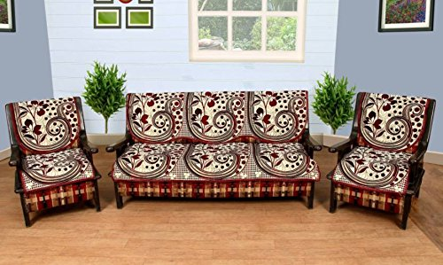 Fresh From Loom Polycotton Sofa Cover for 5 Seater