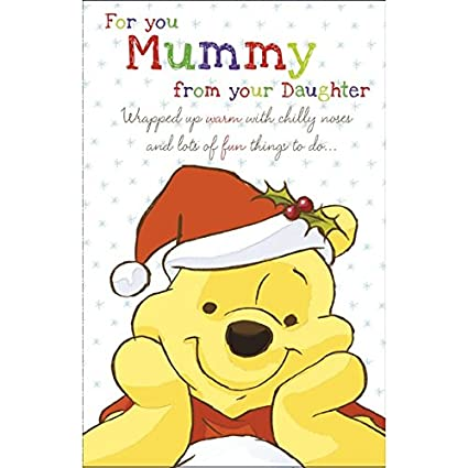 Winnie The Pooh Christmas.Amazon Com Winnie The Pooh For You Mummy From Your
