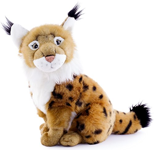 Linus the Lynx | 12 Inch Stuffed Animal Plush | By Tiger Tale Toys - Walmart Cat Ears Costume