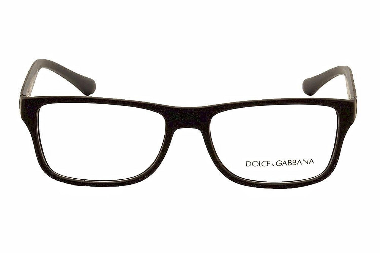 amazoncom dolcegabbana over molded rubber dg5009 eyeglass frames 2805 54 black rubber dg5009 2805 54 shoes - Dolce Gabbana Frames